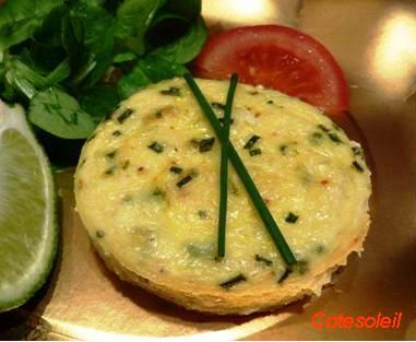 Flan crabe