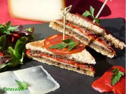 Club-sandwich-basque à ma façon