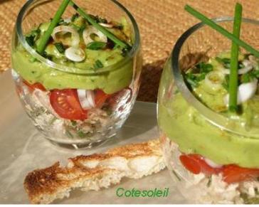 Timbale-thon & guacamole
