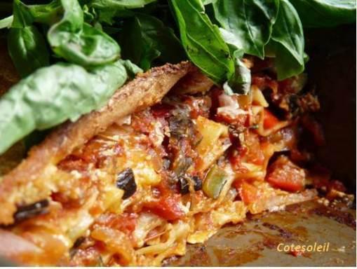 Feuille de lasagne archives c t soleils les recettes for Plat convivial ete