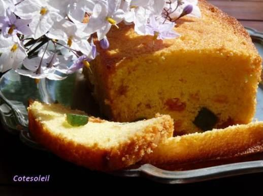 Cake Mascarpone Fruits Confits