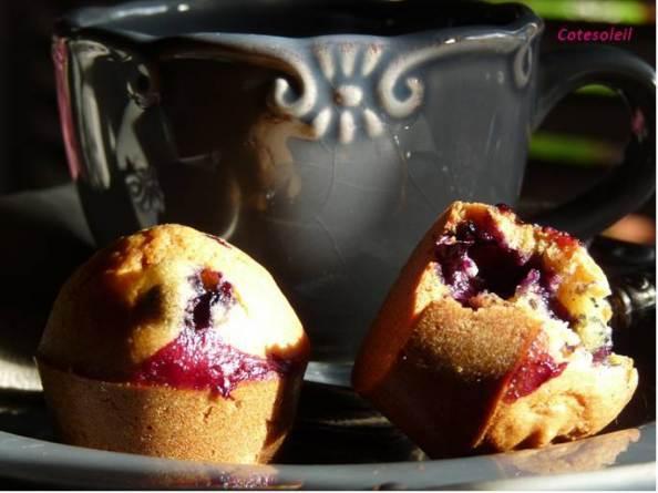 Muffins-myrtilles & noix