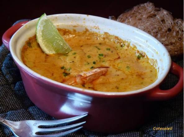 Gratin-gambas-curry