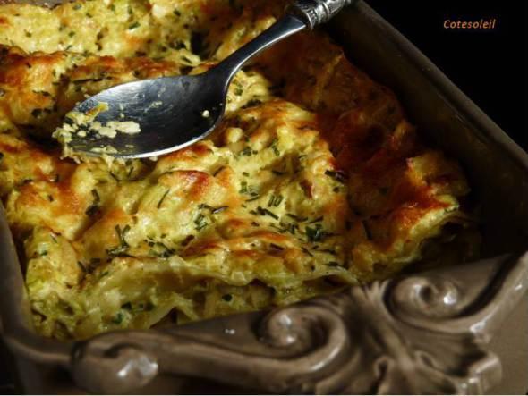 Lasagnes-poisson & colombo