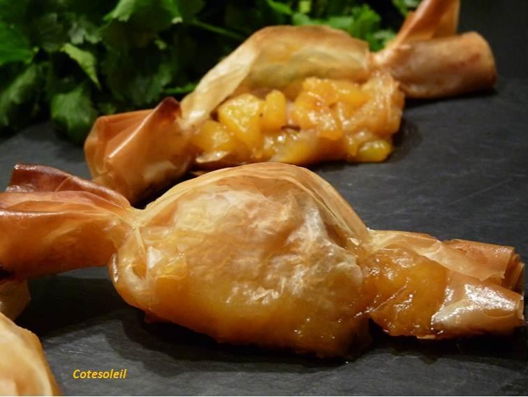 Bonbon mangue foie gras