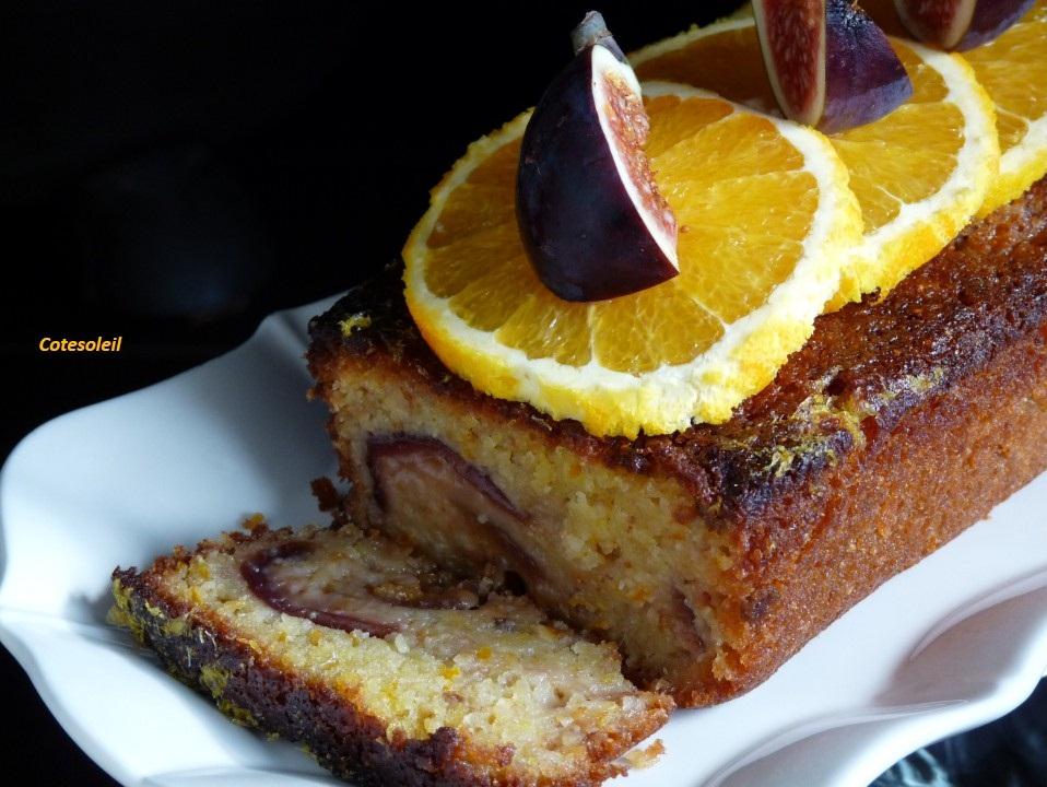 Cake figues & orange