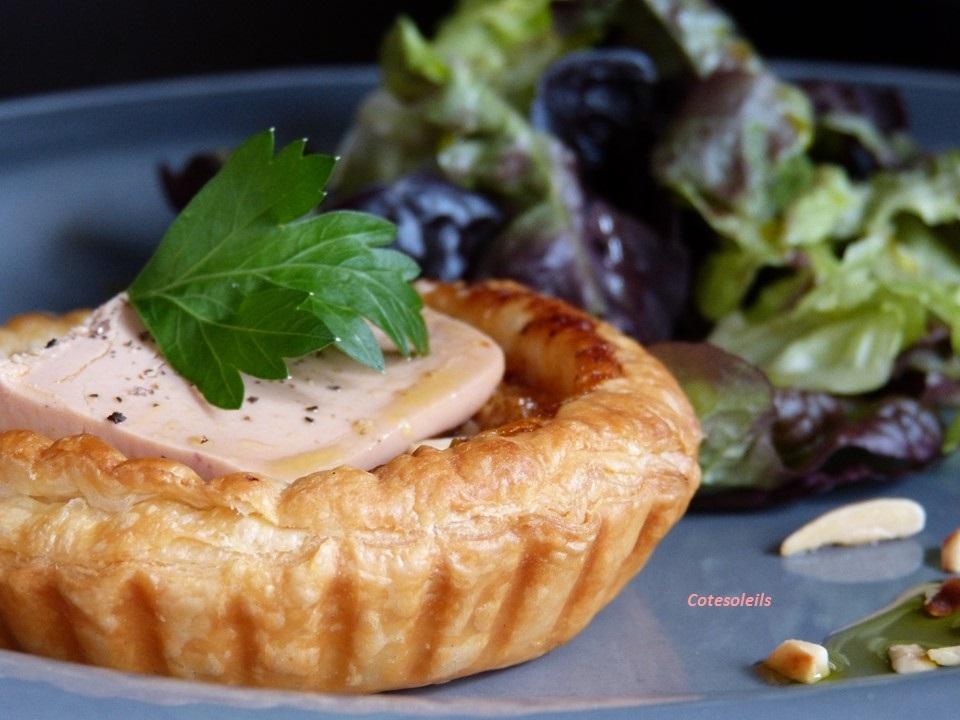 Tartelette Mendiant & Foie gras