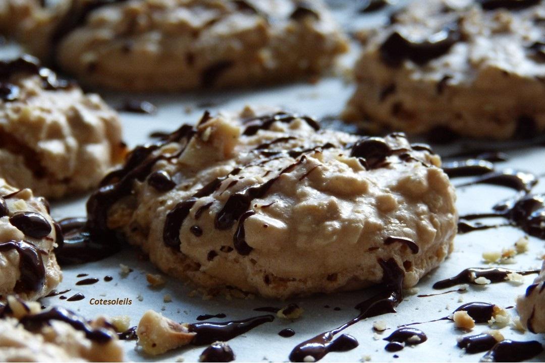 Meringue noisette chocolat