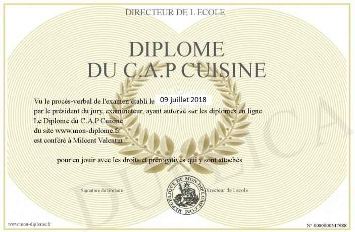 Passer Le Cap De Cuisine En Candidat Libre Et Le Reussir